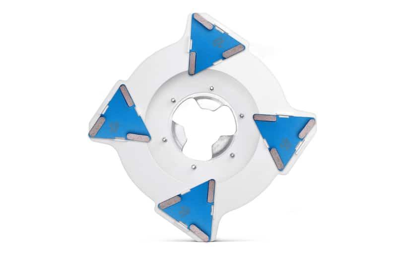 Dysk SupraDisc do mocowania segmentów diamentowych